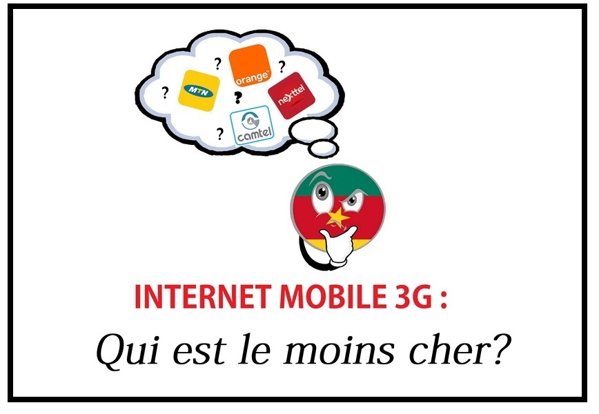 comparatif des forfaits internet 3g au cameroun le. Black Bedroom Furniture Sets. Home Design Ideas