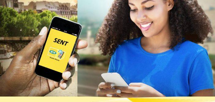 MTN Cameroon - Recevoir de l'argent de l'étranger