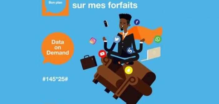 Les Forfaits DATA ON DEMAND plus chers que les forfaits internet mobiles classiques