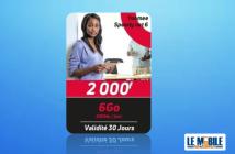 Forfait internet Yoomee 2000 F speedy net 6