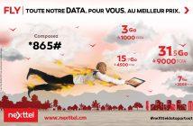 Nouveaux forfaits Nexttel Fly Extra 2018