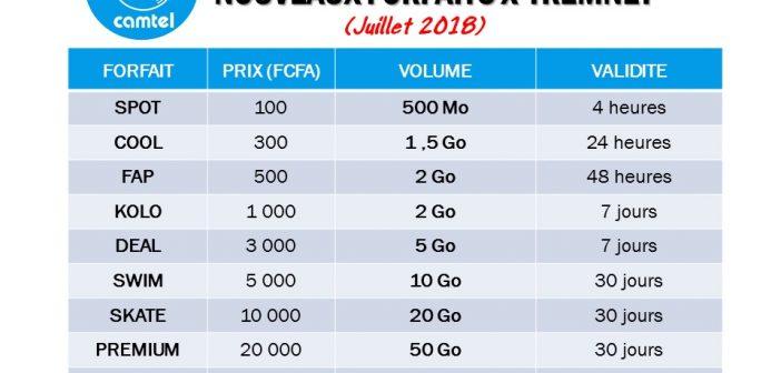 Camtel Introduit 5 Nouveaux Forfaits dans son Offre Internet X-TremNet