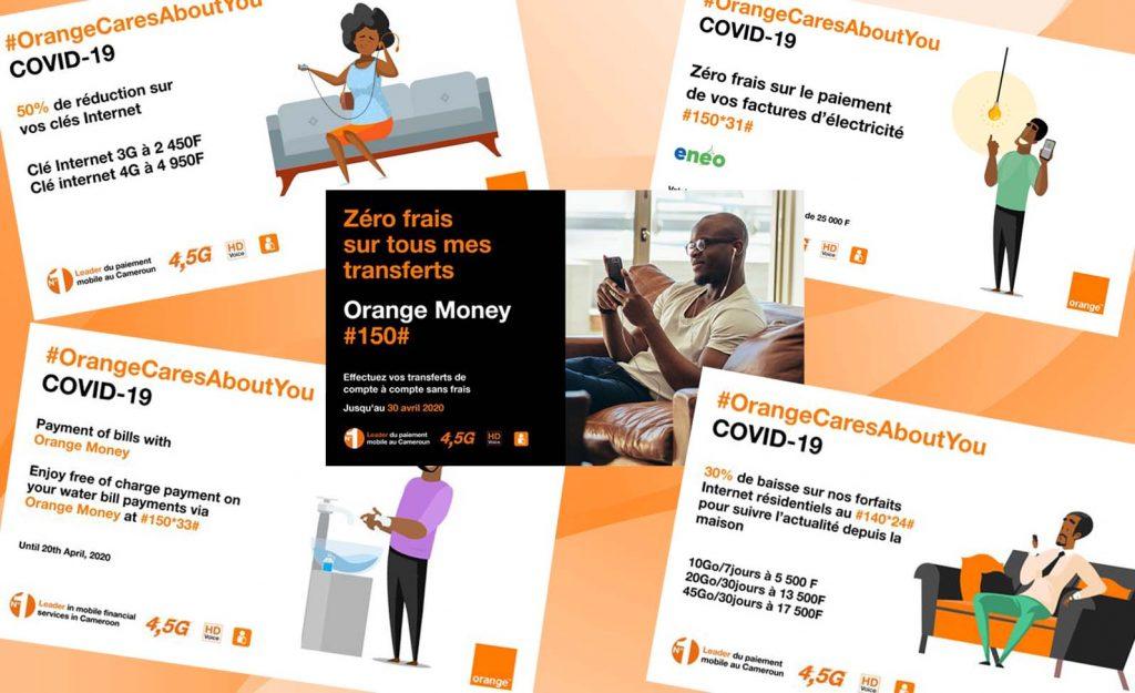 Recap de quelques Promotions Mars - Mai 2020 Chez Orange Cameroun COVID 19
