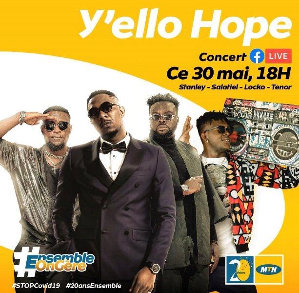 Affiche du Concert Yello Hope