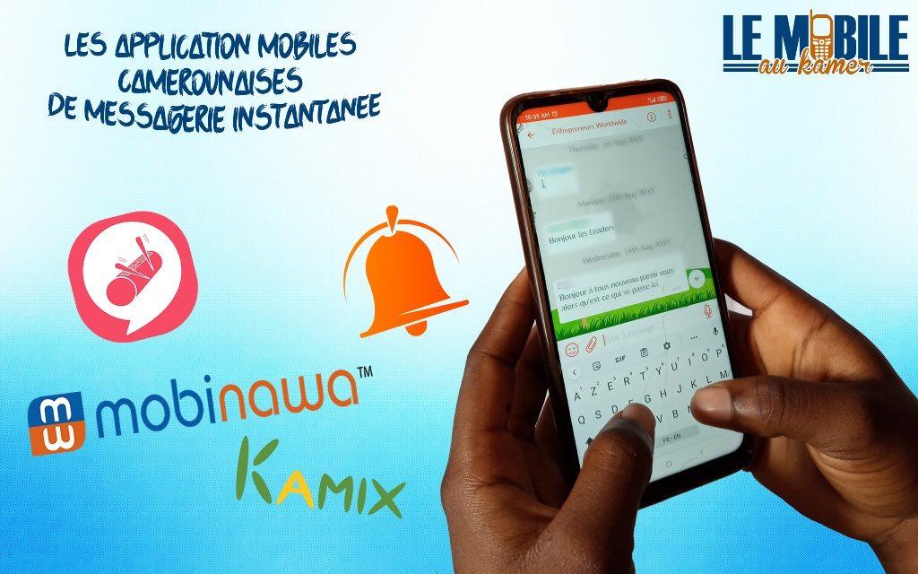 Application camerounaises de messagerie