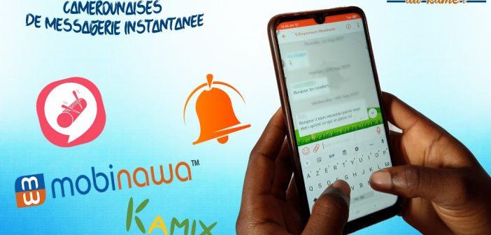 Les applications mobiles camerounaises à la conquête du marché de la messagerie instantanée ?